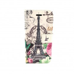Samsung Galaxy S4 Mini case with wallet - Paris