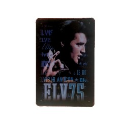 Vintage metal poster for decoration, metal sign- ELVIS