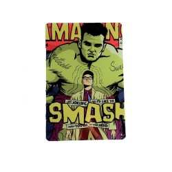 Vintage metal poster for decoration, metal sign - Smash Hulk