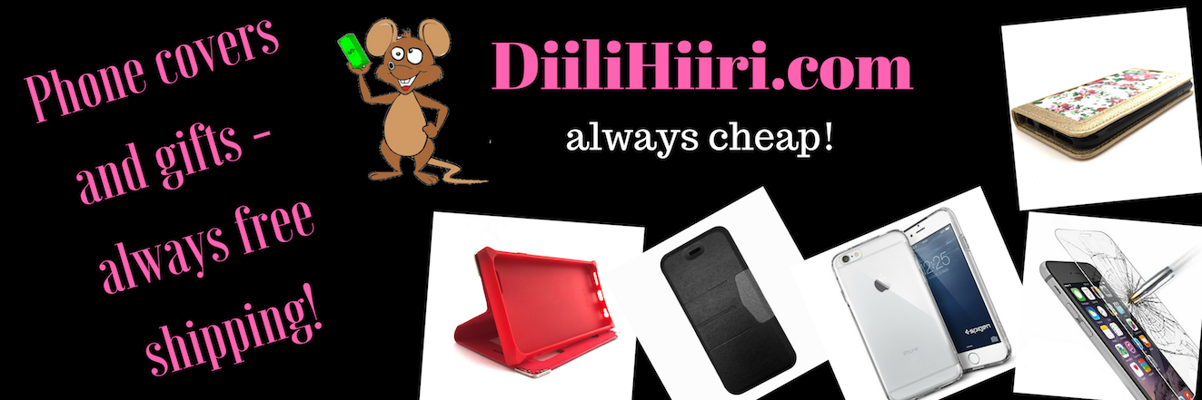 DiiliHiiri - cheap phone covers, gift ideas, decoration!